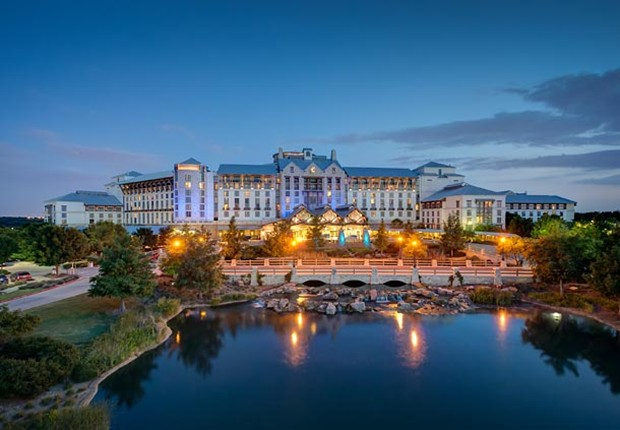 The Gaylord Texan Resort golf package