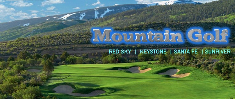 Mountain golf packages and tours